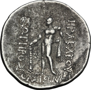 reverse: Eastern Europe.. AR Tetradrachm, imitation of Thasos, after 148 BC