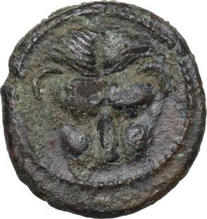 obverse: Bruttium, Rhegion. AE Onkia, 450-425 BC
