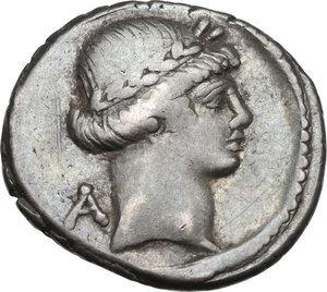 obverse: C. Considius Paetus.. AR Denarius, 46 BC