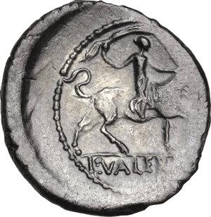 reverse: L. Valerius Acisculus.. AR Denarius, 45 BC