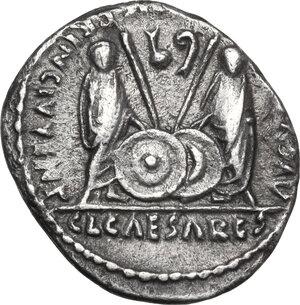 reverse: Augustus (27 BC - 14 AD)  . AR Denarius. Lugdunum (Lyon) mint. Struck 2 BC-12 AD