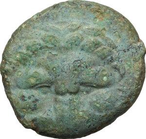 obverse: Bruttium, Rhegion. AE 21 mm, 351-280 BC