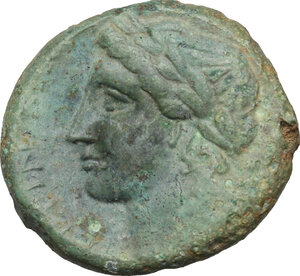 reverse: Bruttium, Rhegion. AE 21 mm, 351-280 BC