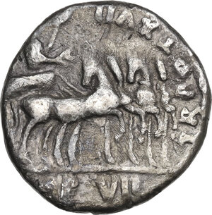 reverse: Tiberius (14-37 AD).. AR Denarius. Lugdunum mint, 15-16 AD