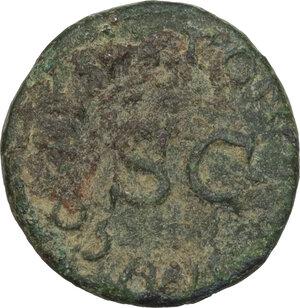 reverse: Claudius (41-54).. AE Quadrans, 41 AD