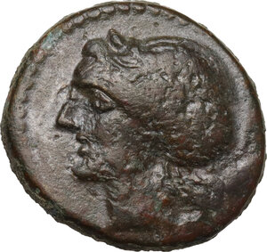 obverse: Alaisa Archonidea.  Roman Rule.. AE 20 mm, after 204 BC