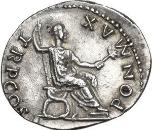 reverse: Vespasian (69-79 AD).. AR Denarius, 74 AD