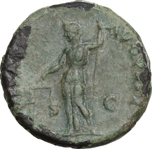 reverse: Titus as Caesar (69-79).. AE As, 72 AD