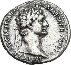 obverse: Domitian (81-96).. AR Denarius, 88-89