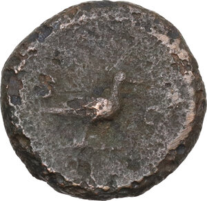 reverse: Anonymous Quadrantes. Period of Domitian to Antoninus Pius. . AE Quadrans
