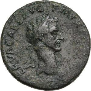 obverse: Nerva (96-98).. AE Sestertius. Struck 96 AD