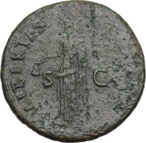 reverse: Nerva (96-98).. AE Sestertius. Struck 96 AD