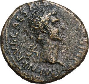 obverse: Nerva (96-98).. AE Dupondius. Struck 97 AD