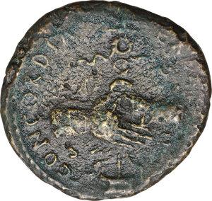 reverse: Nerva (96-98).. AE Dupondius. Struck 97 AD