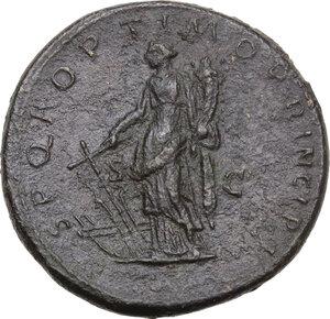reverse: Trajan (98-117).. AE Sestertius, 103-111