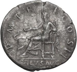reverse: Hadrian (117-138).. AR Denarius, 119-122 AD