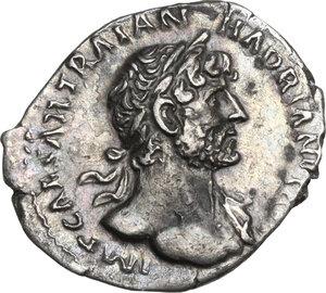 obverse: Hadrian (117-138).. AR Denarius, 118 AD