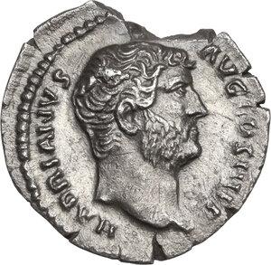 obverse: Hadrian (117-138).. AR Denarius, 134-138 AD