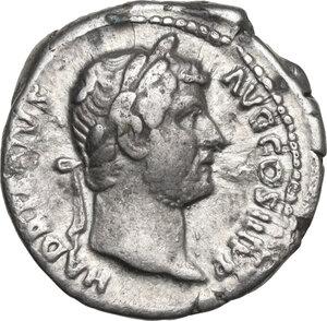 obverse: Hadrian (117-138).. AR Denarius, struck 117 AD