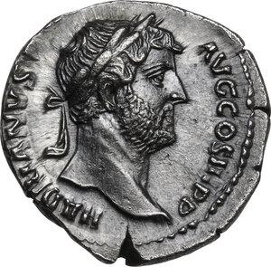 obverse: Hadrian (117-138).. AR Denarius, 133-135