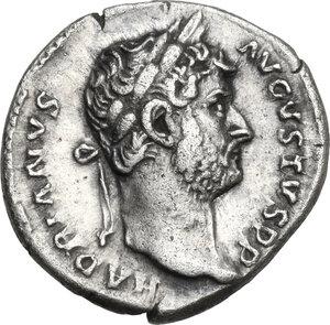 obverse: Hadrian (117-138).. AR Denarius, 128-129