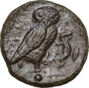 reverse: Kamarina. AE Onkia, 425-405 BC