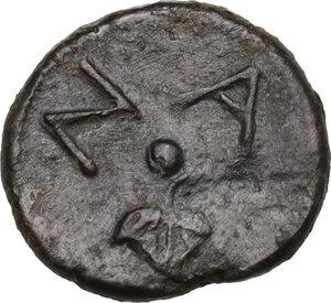 reverse: Naxos. AE Onkia, 425-420 BC