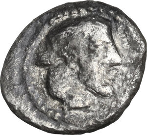 obverse: Syracuse.  Deynomenid Tyranny (485-466 BC).. AR Hemilitra, 475-470 BC