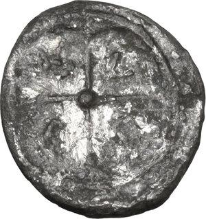 reverse: Syracuse.  Deynomenid Tyranny (485-466 BC).. AR Hemilitra, 475-470 BC