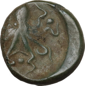 reverse: Syracuse.  Second Democracy (466-405 BC).. AE Tetras, after 425 BC