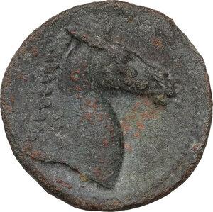 reverse: AE 18 mm, 300-264 BC