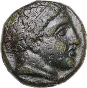 obverse: Kings of Macedon.  Philip II (359-336 BC). AE 17 mm . Uncertain Macedonian mint