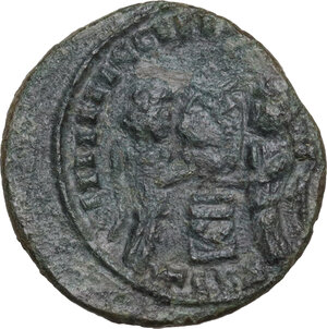 reverse: Uncertain Germanic tribes. Pseudo-Imperial coinage. . AE 18 mm, imitation of Constantine I, 4th-5th century