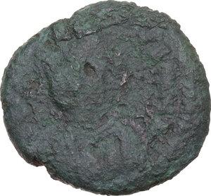 obverse: Ostrogothic Italy, Theoderic (493-526).. AE Decanummium, Ravenna mint, struck c. 493-518 AD