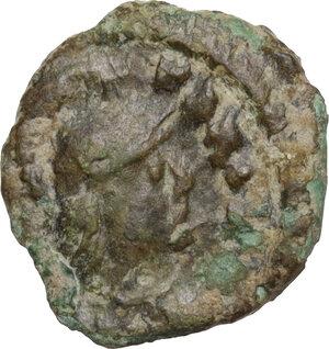 obverse: Ostrogothic Italy. Athalaric (526-534).. AE 5 Nummi, Ravenna mint