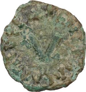 reverse: Ostrogothic Italy. Athalaric (526-534).. AE 5 Nummi, Ravenna mint