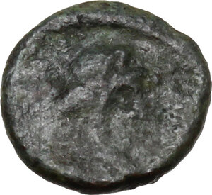 obverse: Vandals in North Africa and Sardinia. Gelimer (530-534).. AE Nummus, Carthage mint