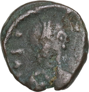 obverse: Vandals. Pseudo-Imperial coinage.. AE 10 mm. Circa 5th- 6th century
