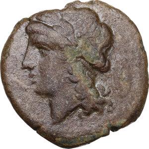 obverse: Samnium, Southern Latium and Northern Campania, Cales. AE 20.5 mm, circa 265-240 BC