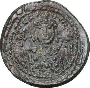 reverse: Michael VII Ducas (1071-1078). AE Follis. Constantinople mint