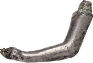 obverse: Solid silver female arm.  Roman, 1st-3rd century AD.  61 mm. 39.36 g