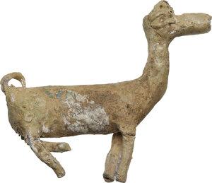 obverse: Lead alpaca figure.  Undated.  10 x 9 cm