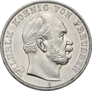 obverse: Germany.  Wilhelm I (1861-1888).. AR Taler, Berlin mint, 1871 A