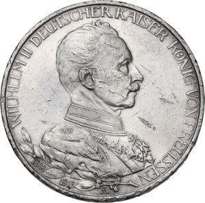 obverse: Germany.  Wilhelm II (1891-1918).. AR 3 Mark , Berlin mint, 1913 A