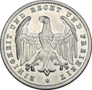 obverse: Germany.  Weimar Republic (1918-1933). AL 500 Mark 1923 A