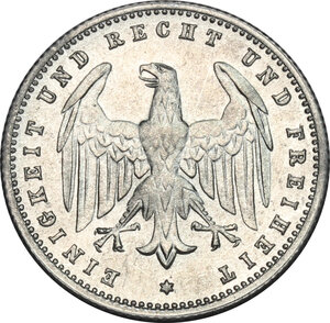 obverse: Germany.  Weimar Republic (1918-1933). AL 200 Mark 1923 F