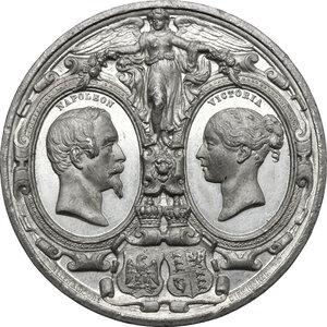 obverse: Great Britain.  Victoria (1837-1901).. WM Medal, 1855