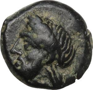 obverse: Bithynia, Tium. AE 11 mm. Circa 350-300 BC