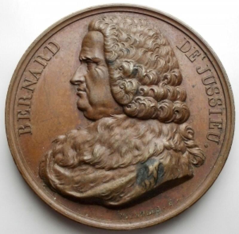obverse: Medaglie - France. Medaille. Bernard De Jussieu.gr 37,08.mm 41,05. Ottima