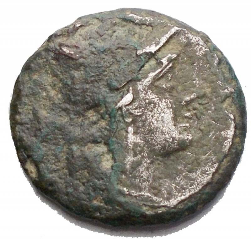 obverse: Varie - Repubblica Romana. Denario suberato da identificare. g 2,48. mm 17,01